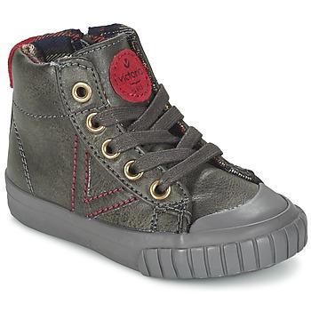 Scarpe Bambino Sneakers alte Victoria BOTA NAPA PU Grigio