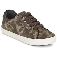 Scarpe Bambina Sneakers basse Geox KIWI GIRL Verde