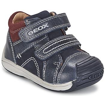 Scarpe Bambino Sneakers alte Geox B TOLEDO BOY Blu