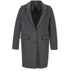 Abbigliamento Donna Cappotti Eleven Paris TABLEAUBIS Grigio / Nero