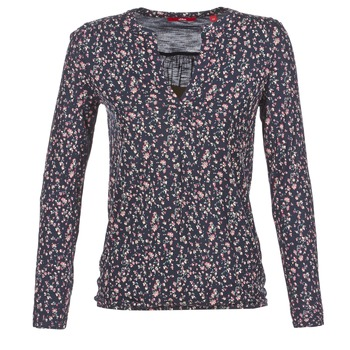 Abbigliamento Donna T-shirts a maniche lunghe S.Oliver INIATE Marine