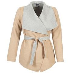 Abbigliamento Donna Cappotti Tom Tailor JAZOUVE Beige / Grigio