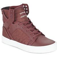 Scarpe Sneakers alte Supra SKYTOP BORDEAUX