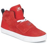 Scarpe Uomo Sneakers alte Supra ROCK Rosso