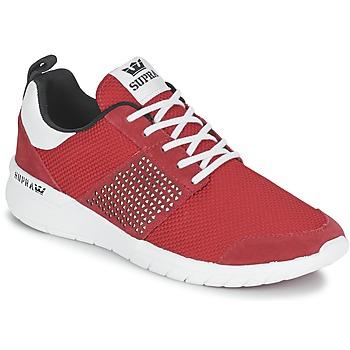 Scarpe Sneakers basse Supra SCISSOR Rosso