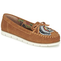 Scarpe Donna Mocassini Miss L'Fire CHIEFTAIN CAMEL