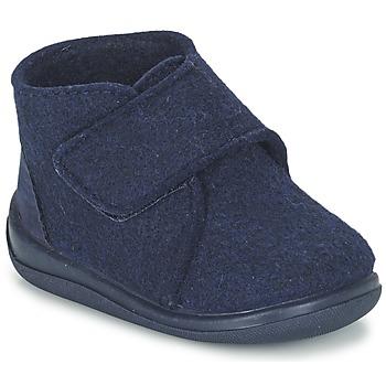 Scarpe Bambino Pantofole Citrouille et Compagnie FELINDRA Blu