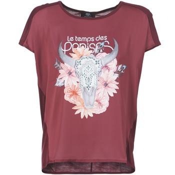 Abbigliamento Donna T-shirt maniche corte Le Temps des Cerises CRANEFLO BORDEAUX