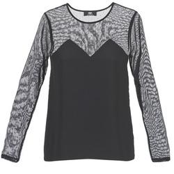 Abbigliamento Donna T-shirt maniche corte Le Temps des Cerises ALANNAH Nero