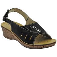 Scarpe Donna Sandali Inblu Sandalo classico cinturino zeppa multicolore
