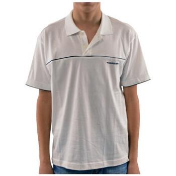 Abbigliamento Bambino Polo maniche corte Diadora 428 Polo bianco