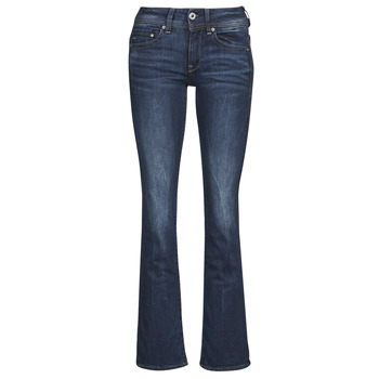 Abbigliamento Donna Jeans bootcut G-Star Raw MIDGE SADDLE MID BOOTLEG STRETCH / DENIM / DK
