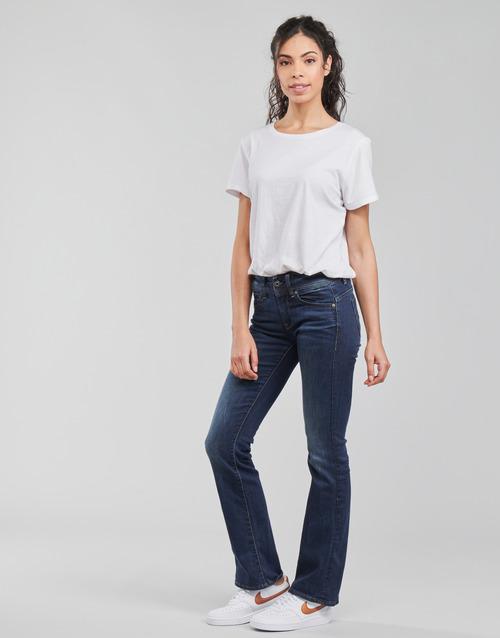 Raw Saddle Dk Mid G 8000 Gratuita Jeans Midge Bootleg Bootcut star Consegna Donna Abbigliamento StretchDenim eHD9WY2IE