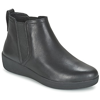 Scarpe Donna Stivaletti FitFlop SUPERCHELSEA BOOT Nero