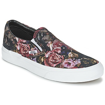 Scarpe Donna Sneakers alte Vans Classic Slip-On Black
