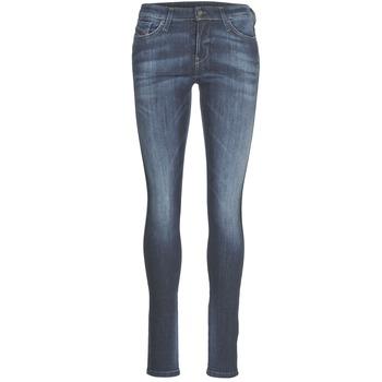 Abbigliamento Donna Jeans slim Diesel SKINZEE Blu