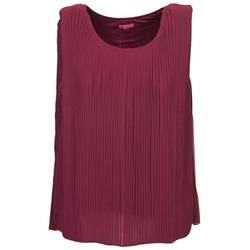 Abbigliamento Donna Top / T-shirt senza maniche Bensimon REINE Prune