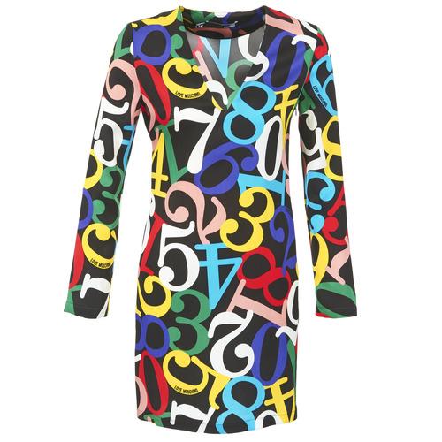 Abbigliamento Donna Abiti corti Love Moschino PICHANI Multicolore