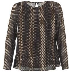 Abbigliamento Donna Top / Blusa MICHAEL Michael Kors OMBOBO Nero / Beige
