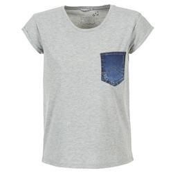 Abbigliamento Donna T-shirt maniche corte Mustang SLV DENIM POCKET Grigio