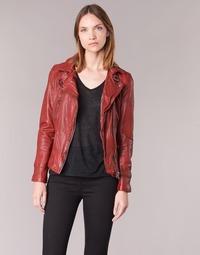 Abbigliamento Donna Giacca in cuoio / simil cuoio Oakwood 62065 Rosso
