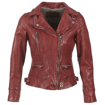 Abbigliamento Donna Giacca in cuoio / simil cuoio Oakwood VIDEO Rosso