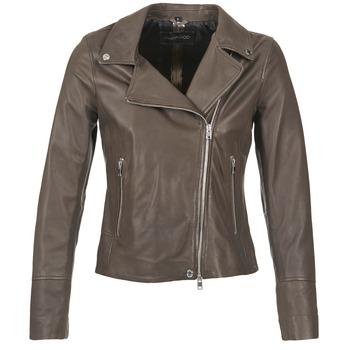 Abbigliamento Donna Giacca in cuoio / simil cuoio Oakwood 62049 Grigio / Clair