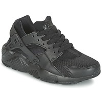 Scarpe Bambino Sneakers basse Nike HUARACHE RUN JUNIOR Nero