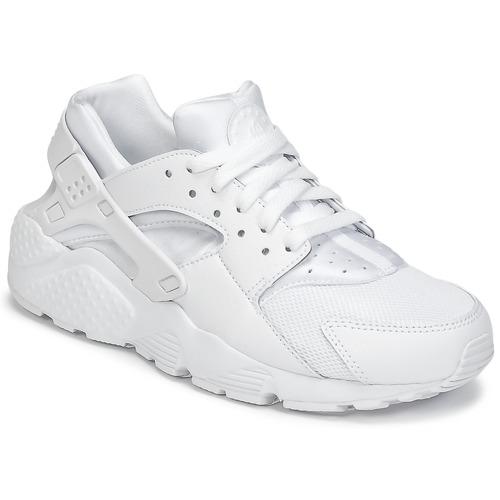 Scarpe Bambino Sneakers basse Nike HUARACHE RUN JUNIOR Bianco