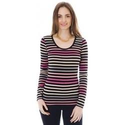 Abbigliamento Donna T-shirts a maniche lunghe Little Marcel T-shirt Line ML Multi 328 Multicolore