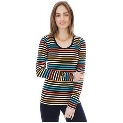Abbigliamento Donna T-shirts a maniche lunghe Little Marcel T-shirt Line ML Multi 327 Multicolore