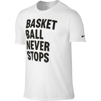T-shirt Nike  Basketball never stops tee