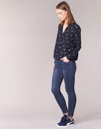Abbigliamento Donna Jeans slim Yurban IFABANE Blu