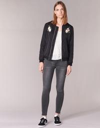 Abbigliamento Donna Jeans slim Yurban IFABANE Grigio