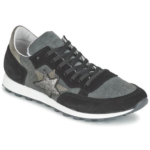 Yurban FILLIO Grigio / Nero Scarpe Sneakers basse Donna 45,50