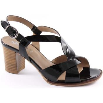 Sandali Igi amp;co  18720 nero scarpe donna sandali tacco pelle vernice