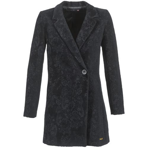 Abbigliamento Donna Cappotti Desigual LOUVIALE Nero