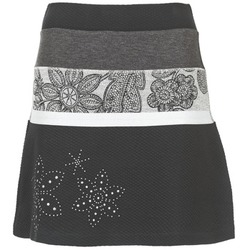 Abbigliamento Donna Gonne Desigual REVUNE Nero / Grigio