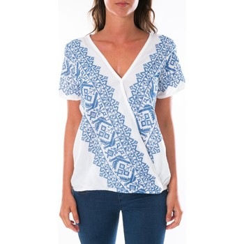 Abbigliamento Donna Top / Blusa Jad Top Milan Blanc Bianco