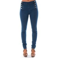 Abbigliamento Donna Jeans slim Dress Code Jean Demin Avenue  15HP006-2 Blu