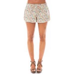 Abbigliamento Donna Shorts / Bermuda Little Marcel Short Simeon Blanc Imprimé Bianco