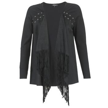 Abbigliamento Donna Gilet / Cardigan Morgan MIKER Nero