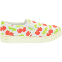 Scarpe Donna Slip on Jc Play donna slip on SLIP ON-2 CHERRY WHITE Bianco