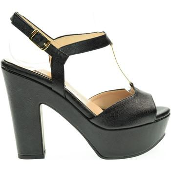 Scarpe Donna Sandali L'amour donna sandalo 335 MIU80 Nero Nero