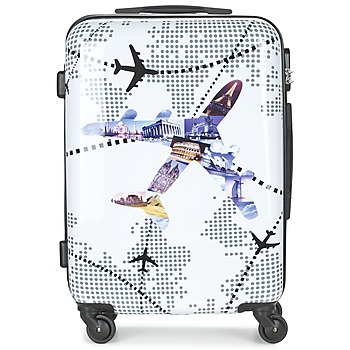 Borse Valigie rigide David Jones OUSKILE 50L Multicolore