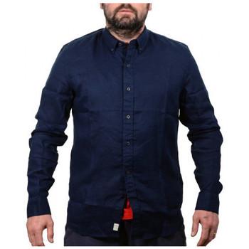 Abbigliamento Uomo Camicie maniche lunghe Timberland Manica lunga lino Camicie multicolore