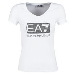Abbigliamento Donna T-shirt maniche corte Emporio Armani EA7 FOUNAROLA Bianco
