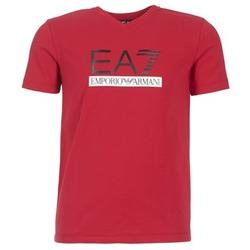 Abbigliamento Uomo T-shirt maniche corte Emporio Armani EA7 MOFRAGO Rosso