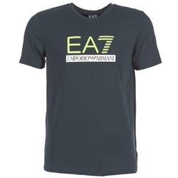 Abbigliamento Uomo T-shirt maniche corte Emporio Armani EA7 JANTLOA MARINE
