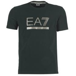 Abbigliamento Uomo T-shirt maniche corte Emporio Armani EA7 MAGGAROL Nero